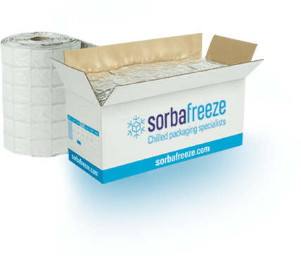 Sorbafreeze | Temperature Controlled Packaging | Alternative to Gel